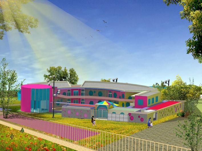 幼儿园设计_cad图纸下载-土木在线