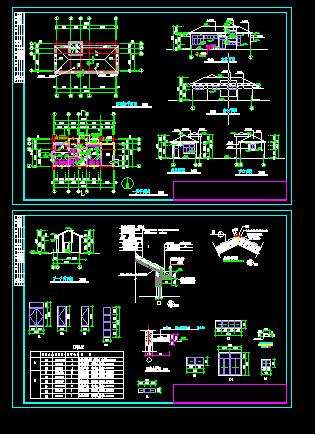 建筑图纸  城市公厕   城市广场边景区内公厕  相关专题:城市公厕设计