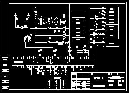 250kw电机变频软启动图纸图片