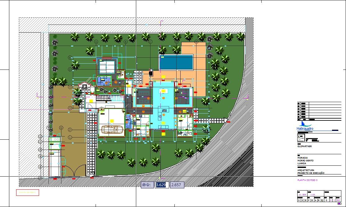国外别墅设计图纸(含工程量清单)