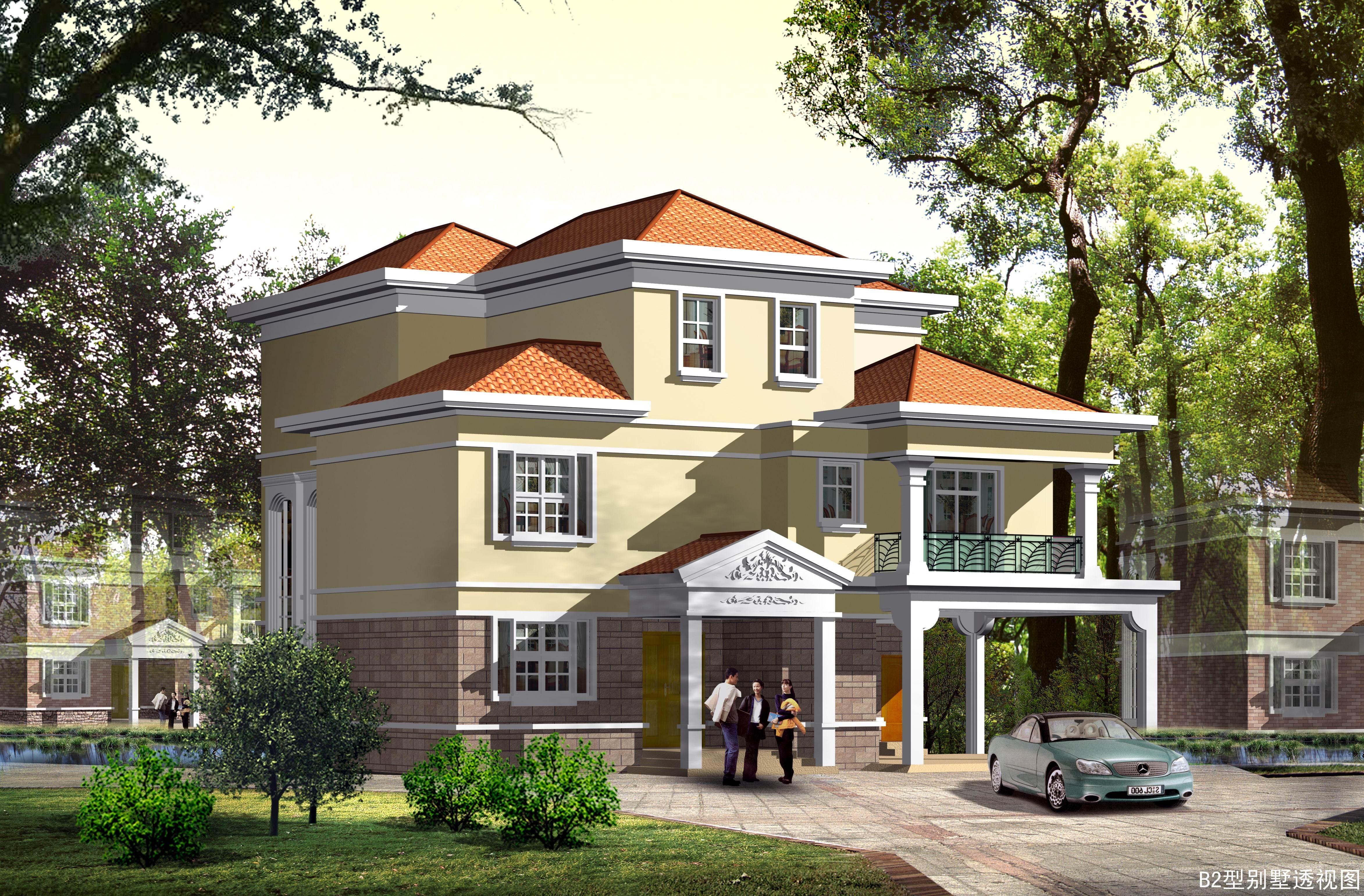 3层独栋别墅施工图设计
