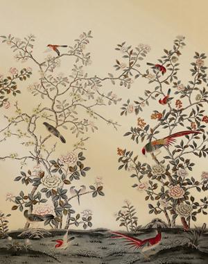 建筑图纸  真丝手绘壁纸  真丝手绘壁纸简介:  手绘真丝壁纸*手绘丝绸