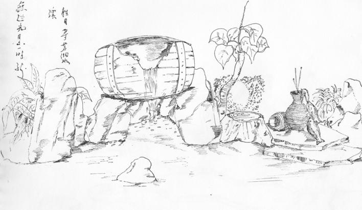 英式景观园林手绘
