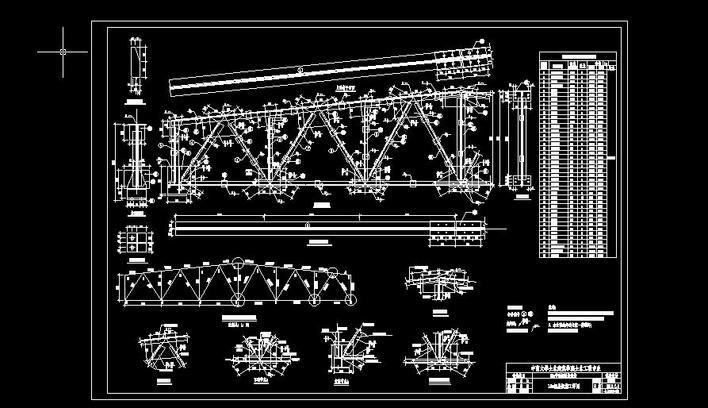 設計 鋼結構施工圖 相關專題:; 結構框架圖模板分享; 公路施工圖紙