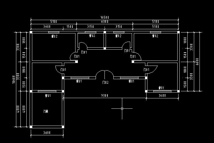 八十平米平房户型设计-八十平方的设计图纸/农村八十平米小别野房/八