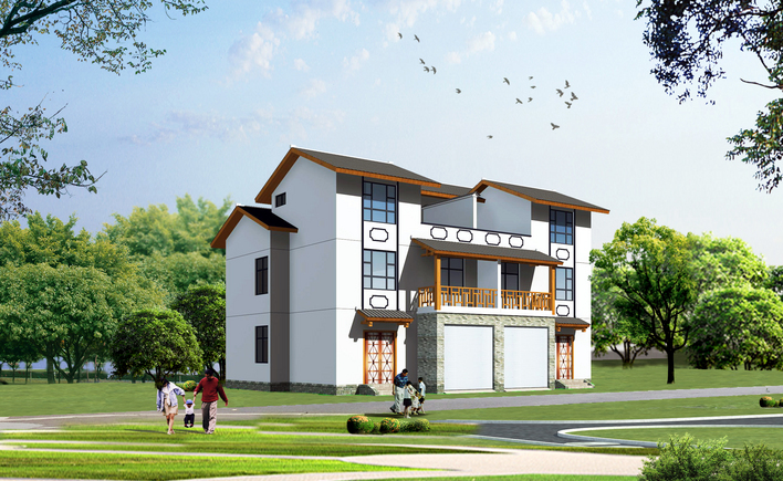 新农村住宅与别墅