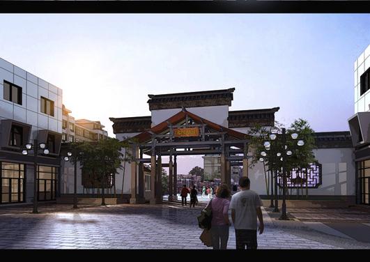 简介:小区入口 相关专题:商业建筑入口设计欧式小区入口设计公园入口