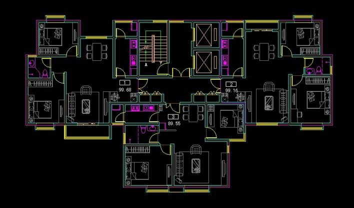 立即下载  收藏此文档 简介:一梯三户 相关专题:住宅的平面图住宅平面