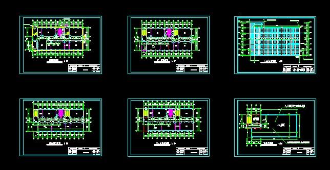 图纸 建筑图纸  办公楼    房屋建筑学课程设计   相关专题:办公楼图片