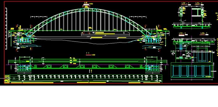 中承式 系杆拱桥