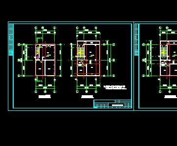 某豪华别墅建筑施工全套图(含建筑图,施工等) 某钢结构公司彩板包边