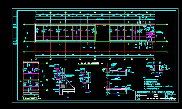 框架结构_co土木在线图纸下载