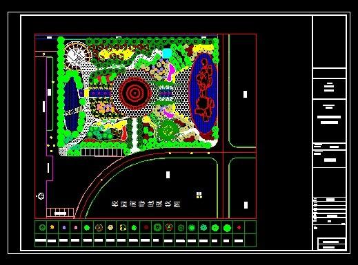 园林绿地规划设计 生产绿地规划设计 绿地规划设计 校园绿地规划设计