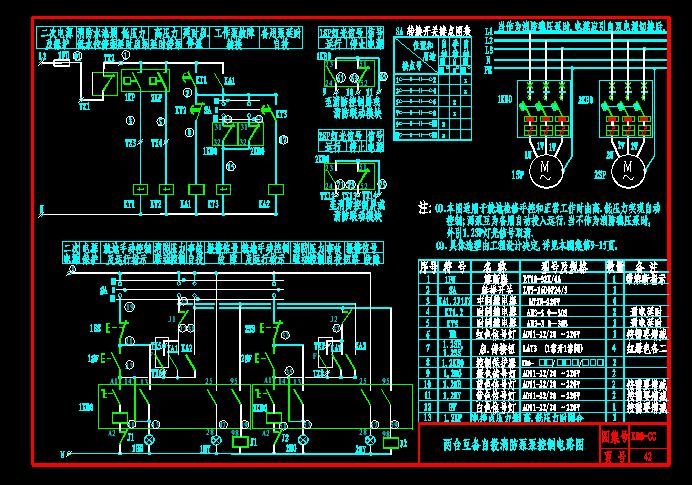 某公司风机,水泵,防火卷帘门cps控制原理图集 kb0控制图集 各类设备