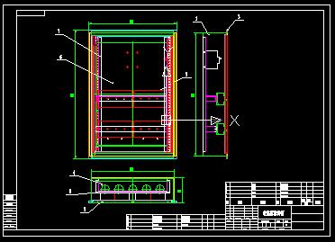 暗装下载箱结构图_cad左手开关cad图纸快捷键图片