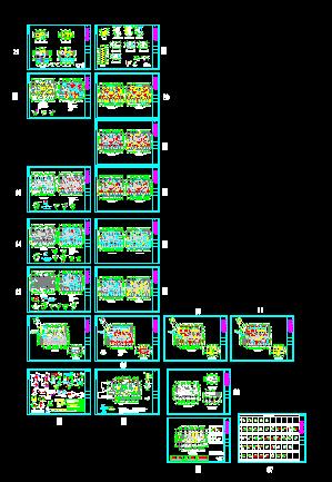 高层住宅结构设计图精华图纸免费下载