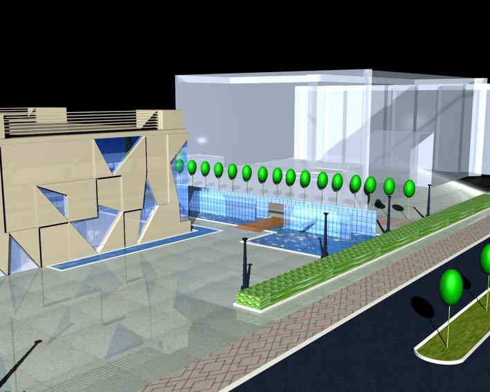 售楼部建筑外观设计