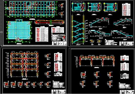 土木工程本科毕业设计图纸及计算书