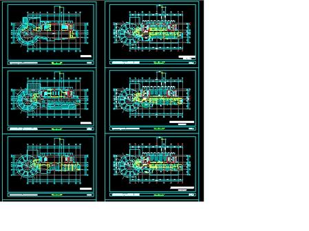 双子塔综合大楼施工图-1