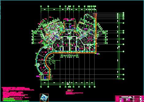 简介:端州名门3#楼建筑图纸