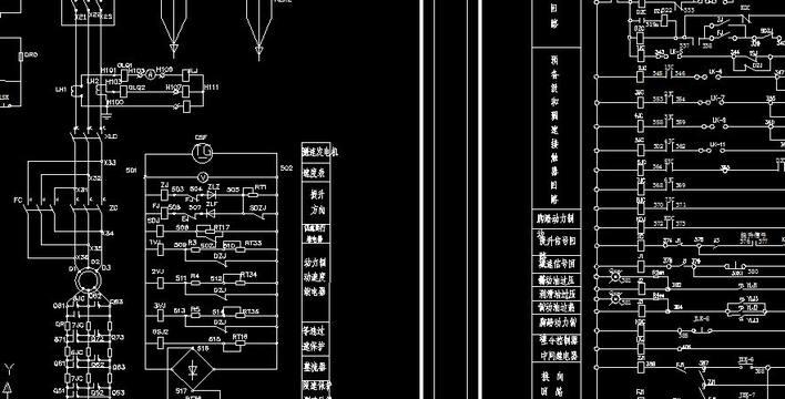 卷扬机电气原理图图片
