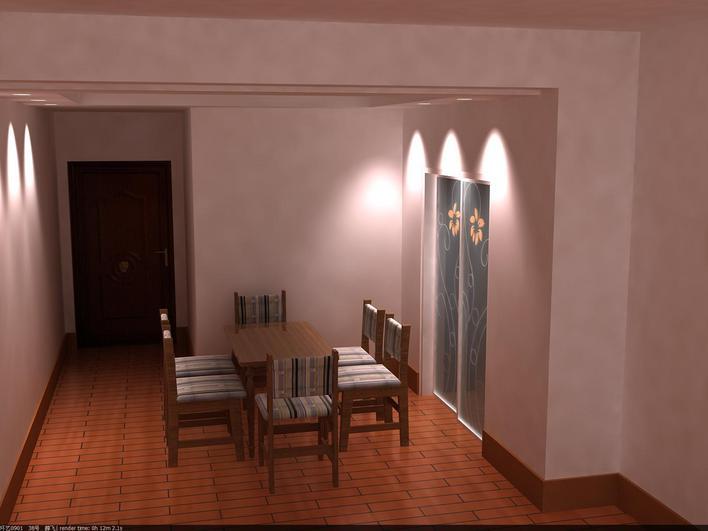 一整套室内装修图纸另带效果图两张高清图片