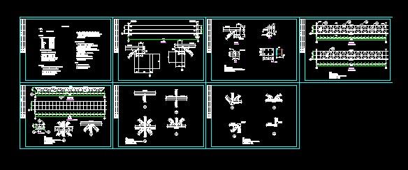 30米桁架门头(全图纸下载)_cad图纸焊接-方管diy土木机箱电脑设计图片