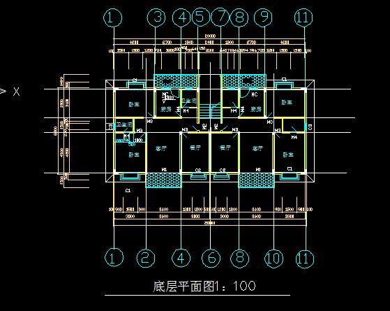 收藏此文档 简介:简单易懂的底层平面图 相关专题:底层平面图楼梯