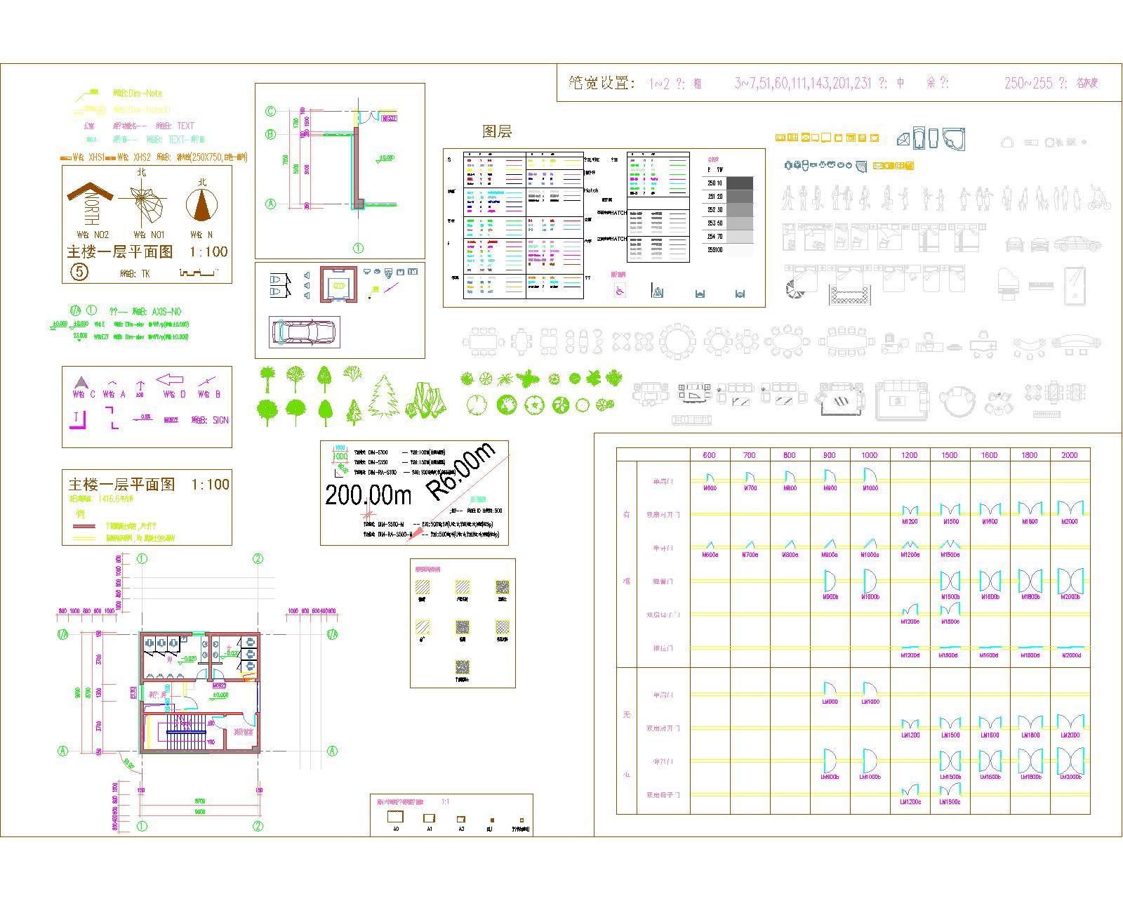 建筑工程图纸高清