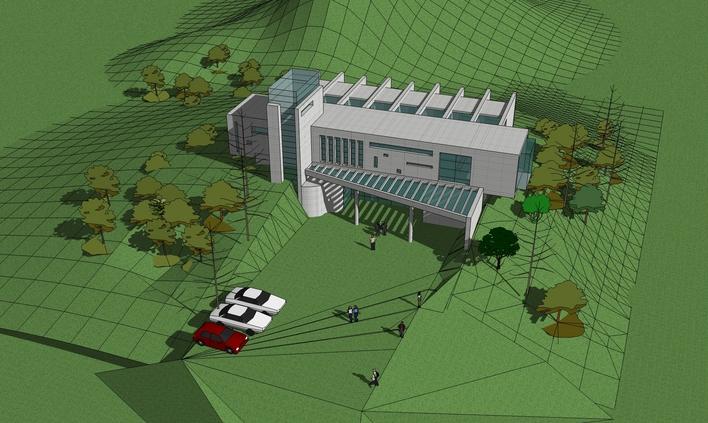 武汉东湖落雁景区园林建筑工程 某风景区双层六角亭施工图(含建筑