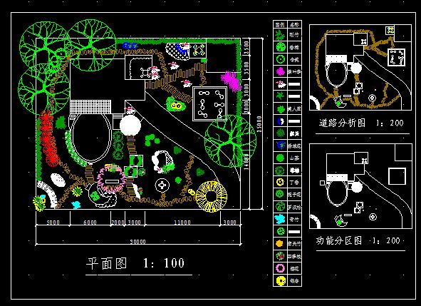 别墅园林建筑设计图