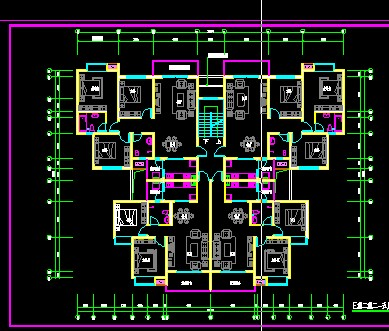 120平复式房设计图展示图片