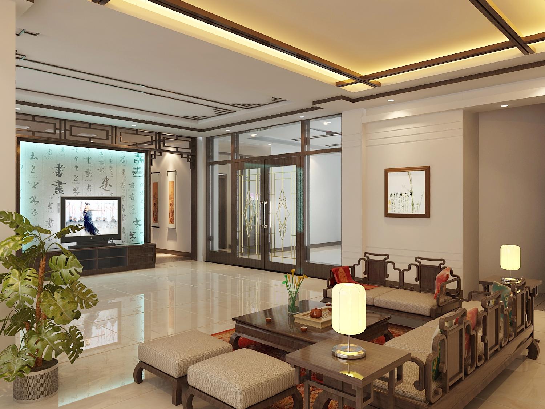 中式客厅装修效果图 中式别墅客厅装修效果图 客厅效果图 相关专题