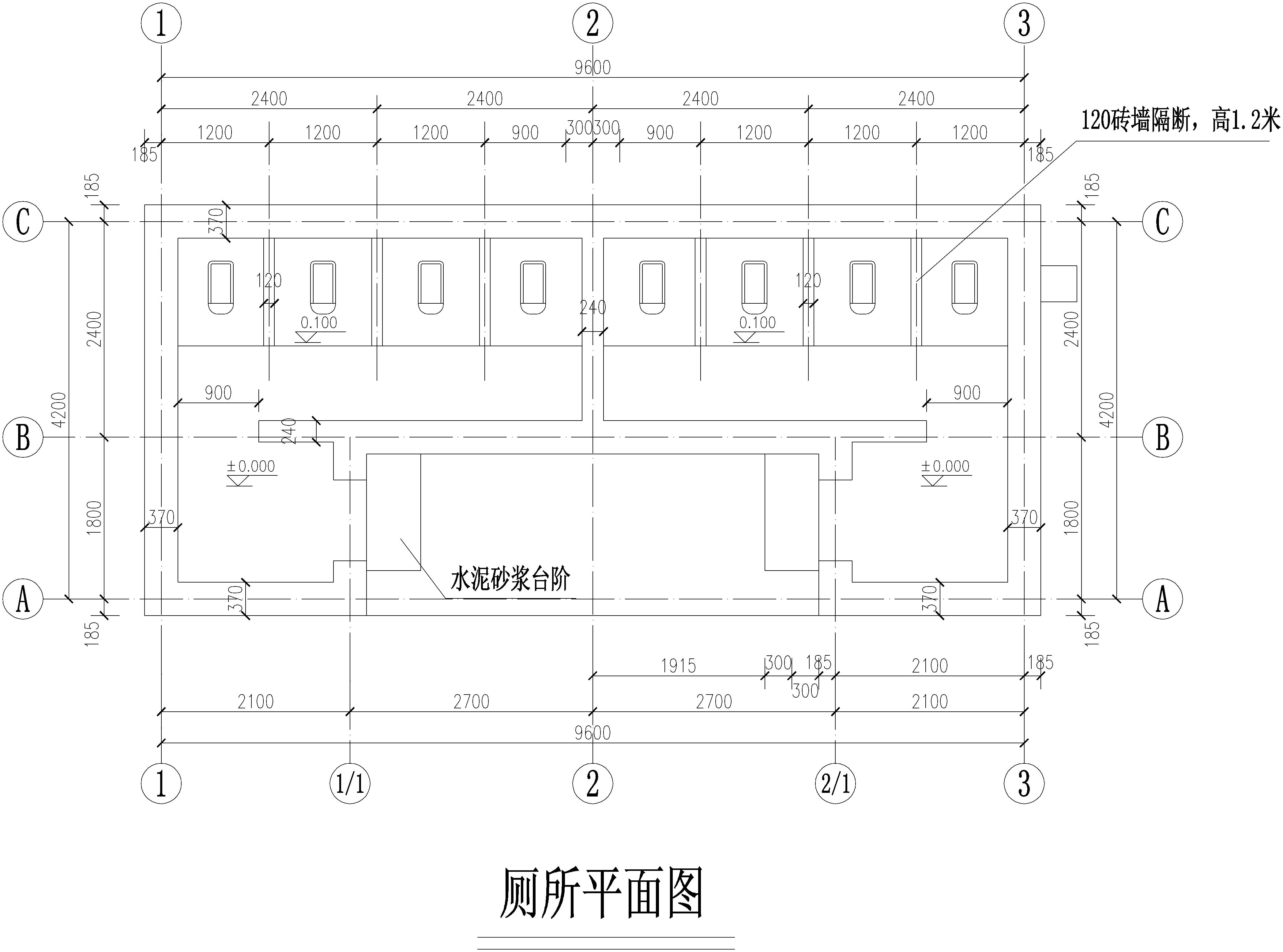 图纸 建筑图纸  商业建筑  会所设计  全套厕所施工图纸    全套厕所