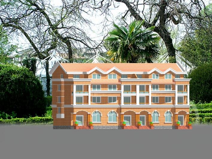 浙江三层别墅设计图