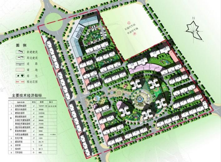 小区整体规划图 新农村整体规划图 小型养猪场整体规划设计平面图  所