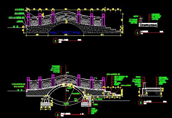 精美园林景观桥设计方案