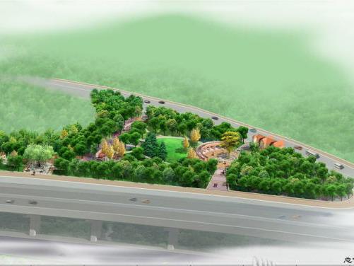 [上海]某绿地景观设计方案