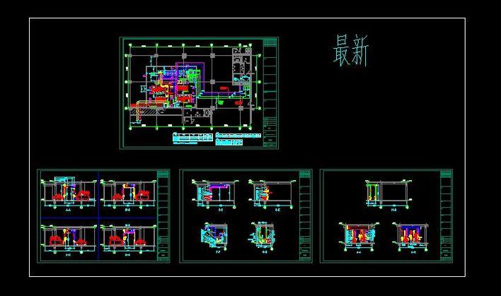 制冷机房原理 制冷机房的设计 防爆制冷机房设计 制冷机房系统图  所