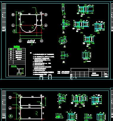 10g. 本设计范围仅包括电梯井钢结构部分.