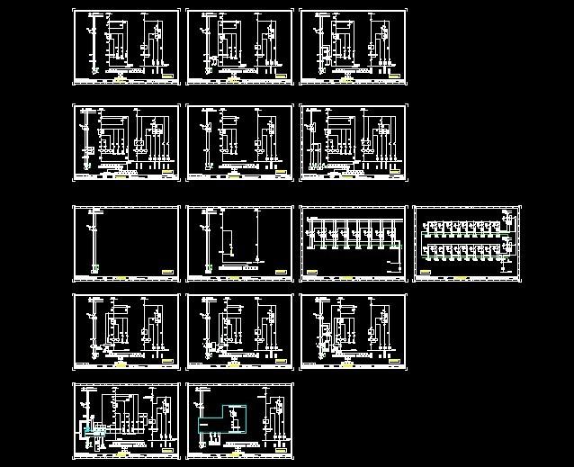 低压配电柜原理图 高低压配电柜原理图