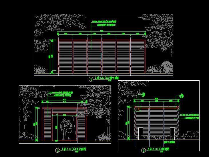 地下车库及人防出入口的处理 高层办公入口门厅设计(sketchup模型) 主图片