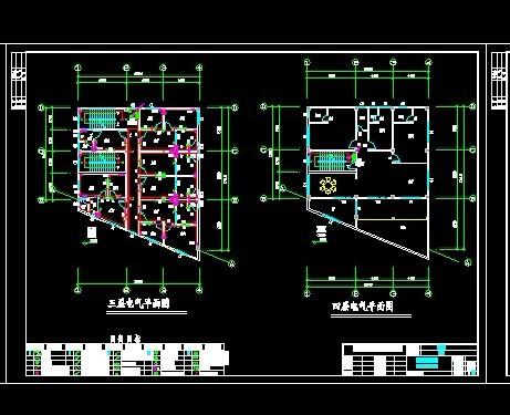 出租屋住宅電氣圖紙 出租屋,別墅設計(最新)1210.