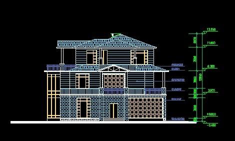 农村自建房设计图精华图纸免费下载