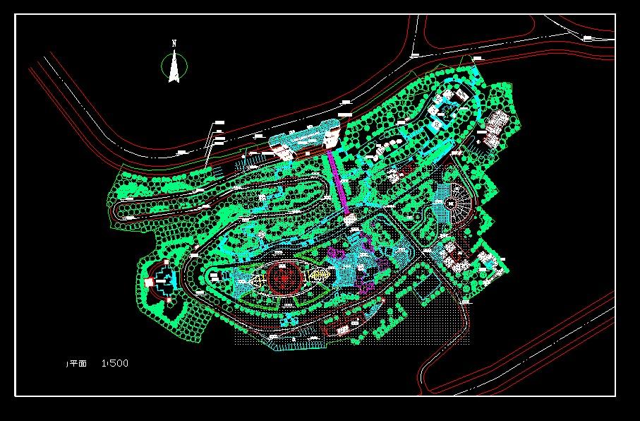 景观公园设计            相关专题:公园景观设计 公园景观快题