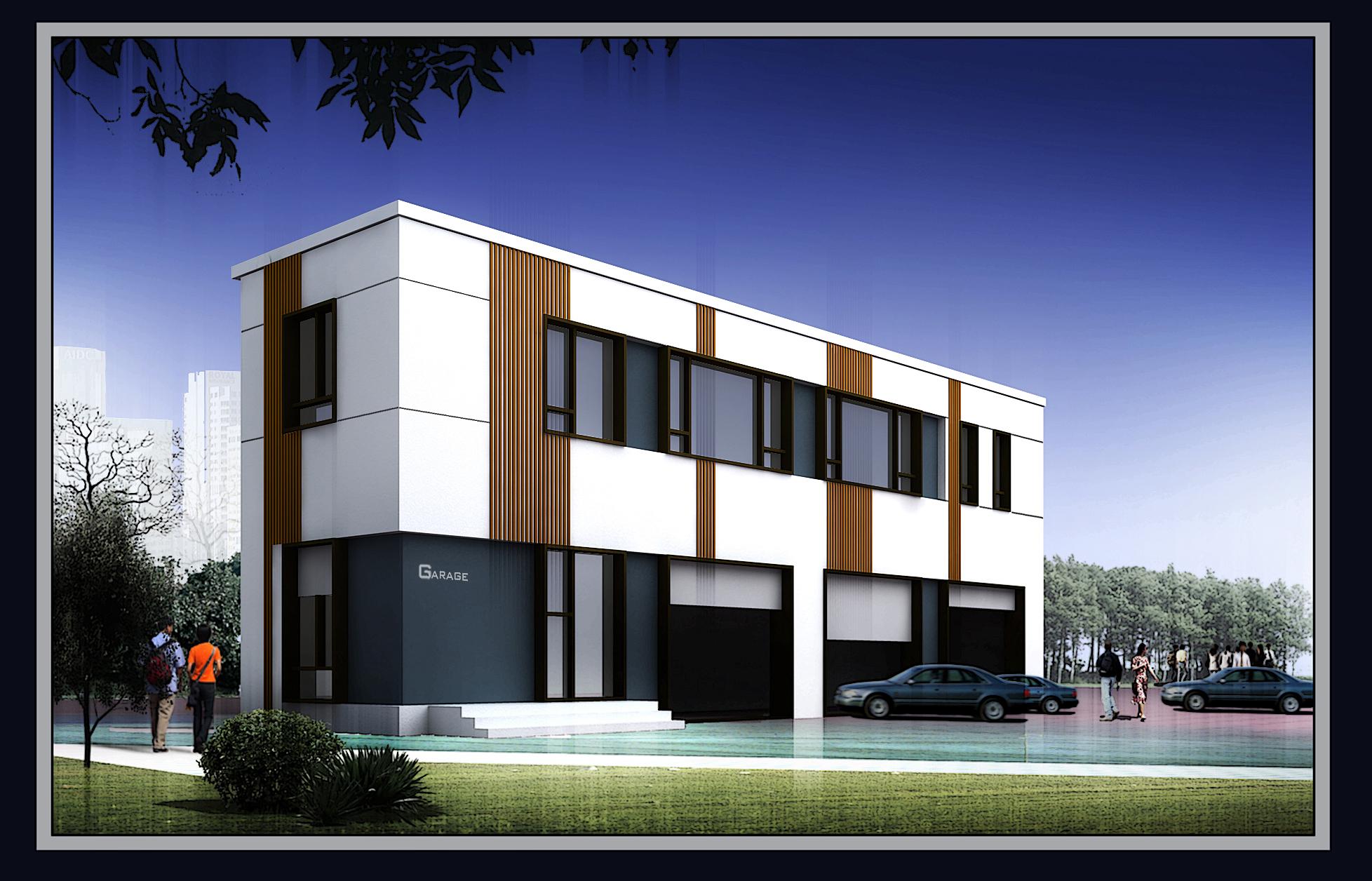 图纸 建筑图纸 车库效果图  上传时间:2012-03-20 所属分类:建筑图纸&