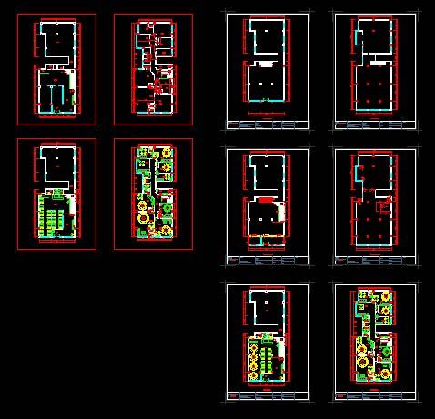 餐饮店平面图