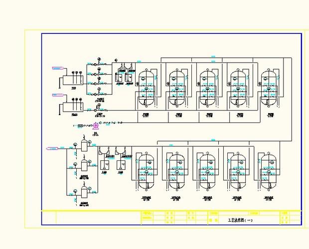 200t纯水工艺流程图