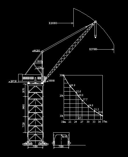 塔吊大钩怎能装摄像图