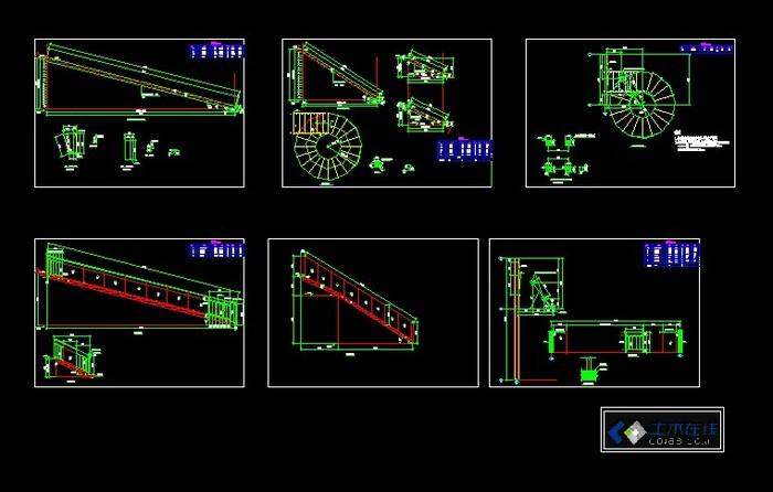 钢结构螺旋楼梯图